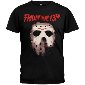 Friday the 13th mens mask t shirt small for Black friday dress shirts