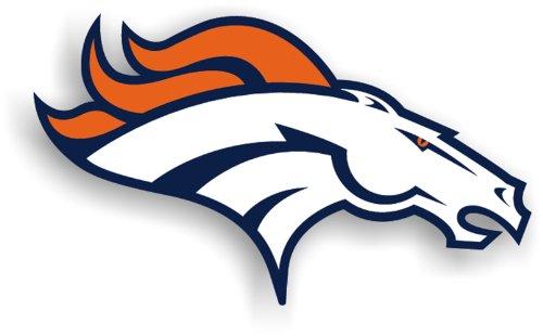 NFL Denver Broncos 12-Inch Vinyl Logo Magnet
