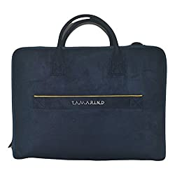 TAMARIND Womens Shoulder Bag (Blue) (14 lap by)
