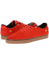 EMERICA Skate Shoes THE REYNOLDS LOW VULC RED/GUM Size 9