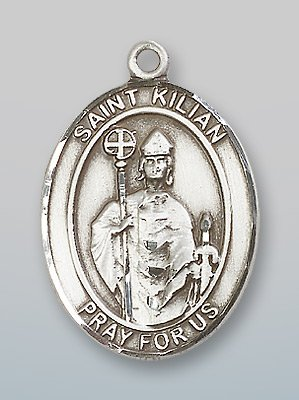 Sterling Silver St. Kilian Pendant