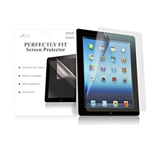 AcaseView Screen Protector Film Clear For Apple Ipad 2 and 3