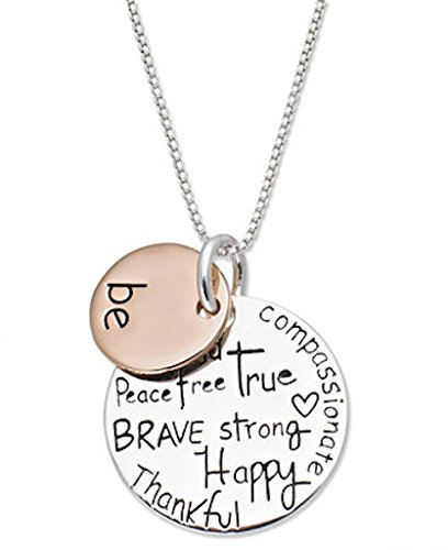inspirational-two-tone-be-graffiti-pendant-necklace-inspire-18-silver-rose-gold-charm