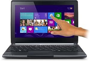 Packard Bell Easynote ENME69BMP-28052G32nii 25,7 cm (10,1 Zoll) Notebook (Intel Celeron N2805, 1,4GHz, 2GB RAM, 320GB HDD, Touchscreen, Win 8) grau