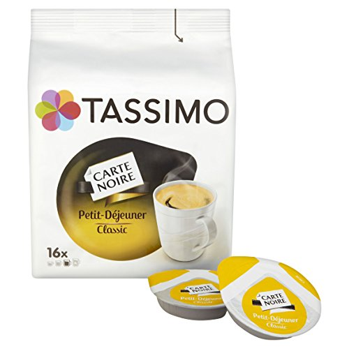 Purchase Tassimo Carte Noire Petit Dejeuner 133 g (Pack of 5) from Mondelez