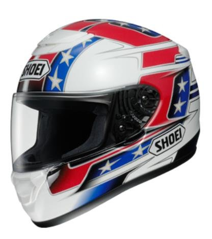 Shoei Qwest Banner Tc-1 SIZE:LRG Full Face Motorcycle Helmet (Wheel Throwing Machine compare prices)