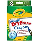 8CT Dry Erase Crayons (Pack of 2)