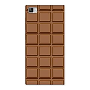Special Classic Chocolate Back Case Cover for Xiaomi Mi3