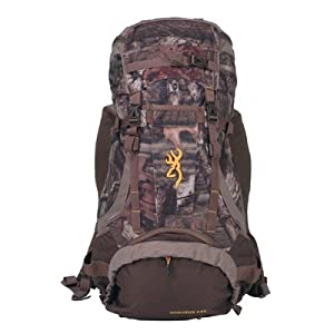 Browning wasatch 44 liter back pack real for Browning fishing backpack