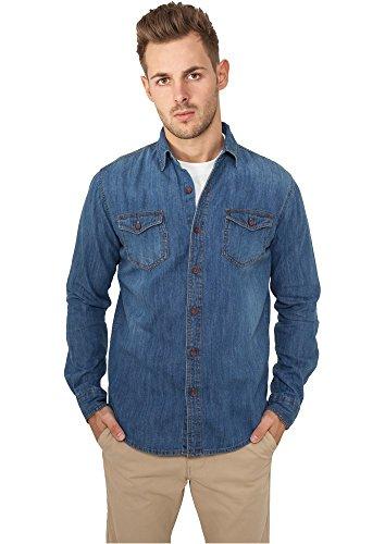 Denim Shirt Hemd blau M