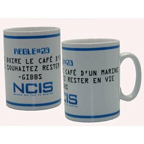 Tasse 460 ml Porcelaine Avec Boîte 'Ncis' - Règles De Gibbs