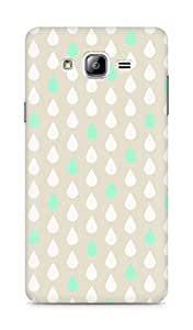 Amez designer printed 3d premium high quality back case cover for Samsung Galaxy ON7 (Rain Patten4)