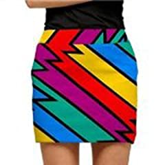 Loudmouth Golf Ladies Skorts: Captain Thunderbolt - Size 4 by Loudmouth Golf