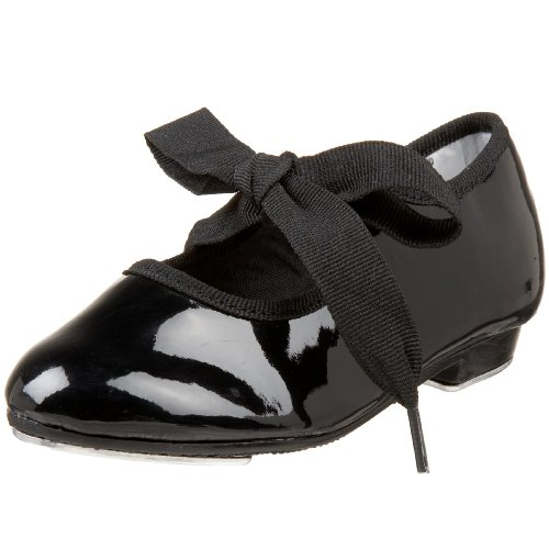 Dance Class T100 Flexible Tap Shoe (Toddler/Little Kid),Black,8.5 M US Toddler