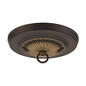 Westinghouse Lighting Corp 70050 Canopy Kit, Oil Rubbed Bronze - Vanity Lighting Fixtures ...