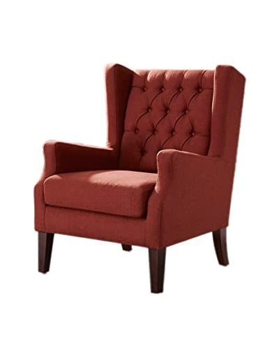 Luxury Home Maxwell Chair, Red