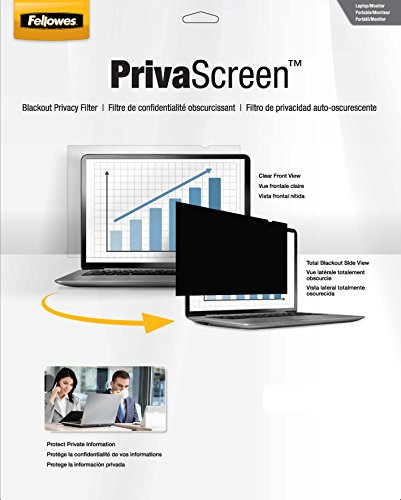 Fellowes Flat Panel Privacy Filter For 14.1-Inch Wide Laptop (4800601)
