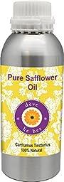 dève herbes Pure Safflower Oil (Carthamus tinctorius) 100% Natural Cold Pressed Therapeutic Grade (5ml -1250ml)