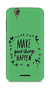 AMEZ make good things happen Back Cover For Acer Z630S