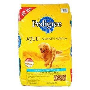 Pedigree Adult Dry Dog Food - 52 lb. (2 Pack)