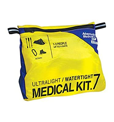 Tactical First Aid Kit: Adventure Medical Kits Ultralight and Watertight 7oz First-Aid Kit from Adventure Medical Kits