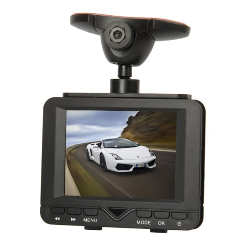 "Allske 2.7"" Tft 2.0Mp 6-Led Night Vision Car Dvr Camcorder W/Remote Controller - Black"