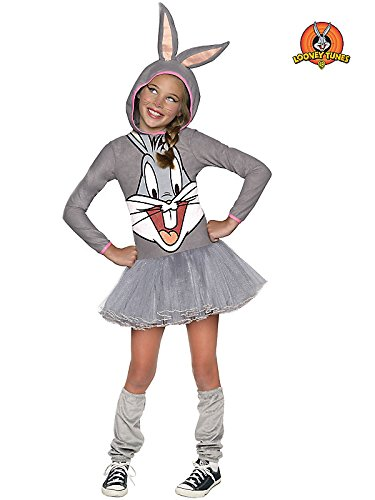 Rubie's Costume Looney Tunes Bugs Bunny Girls Hooded Costume