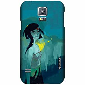 Printland Designer Back Cover for Samsung Galaxy S5 - Beauty Case Cover