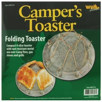 Campfire 4-Slice Bread Toaster (Foldable)