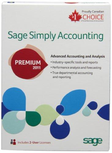 Simply Accounting Premium 2011 (bilingual software)