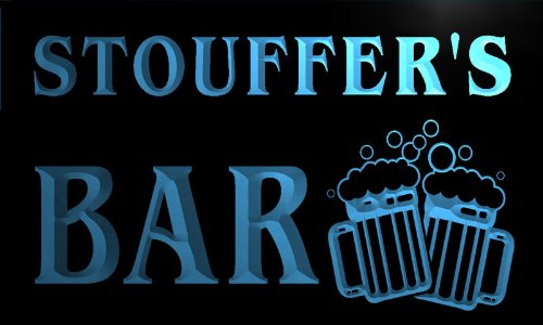 w008568-b-stouffers-nom-accueil-bar-pub-beer-mugs-cheers-neon-sign-biere-enseigne-lumineuse