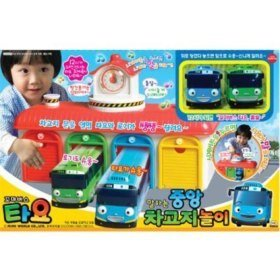 TAYO Le petit bus,Talking Central Garage Play set