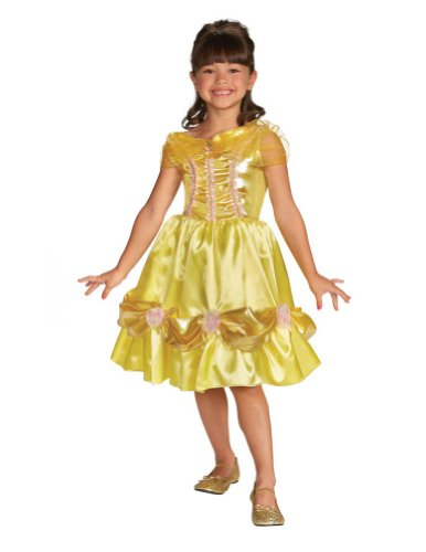 Baby-Toddler-Costume Belle Sparkle Toddler Costume Classic 3T-4T Halloween