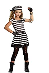 Dream Girl Girl's 9955 3 PC Hannah Cuffs Costumes