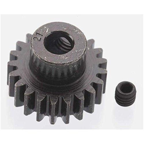 Extra Hard 21 Tooth Blackened Steel 32p Pinion 5mm - 1