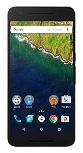 Huawei Nexus 6P Smartphone débloqué 4G (Ecran: 5,7 pouces - 32 Go - Simple Nano-SIM - Android) Gris