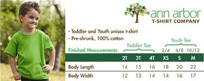 Ann Arbor T-shirt Co. Big Boys' Tuxedo Tee | Kid's Wedding Youth & Toddler Shirt