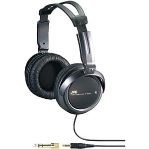 JVC HARX300 Full-Size Headphones, Black