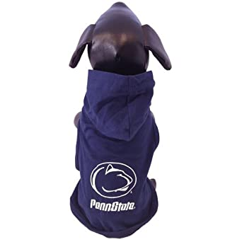 Buy NCAA Penn State Nittany Lions Cotton Lycra Hooded Dog Shirt by All Star Dogs