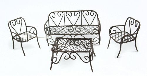 Touch of Nature 4-Piece Garden Set, Mini, Rustic