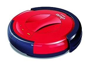 Vileda 142861 Relax - Saugroboter zur Zwischendurchreinigung - besonders leise und schonend zu Möbelstücken - für glatte Böden & kurzflorige Teppiche