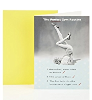 Perfect Gym Routine Birthday Greetings Card