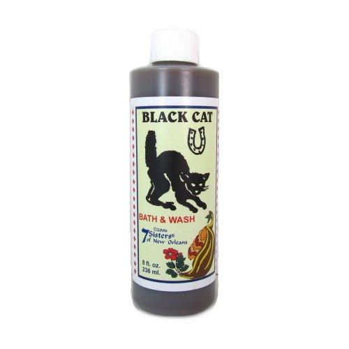Wiccan Black Cat Bath and Body Wash, 8 Fl Oz