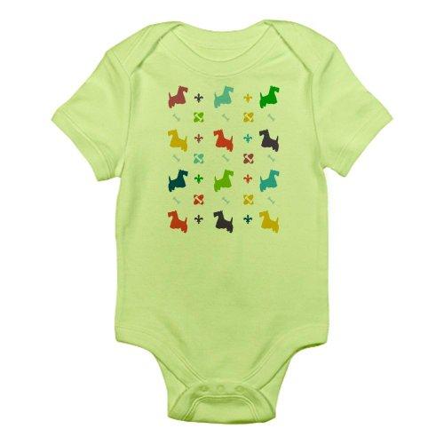 Cafepress Scottie Designer Infant Bodysuit - 0-3M Kiwi