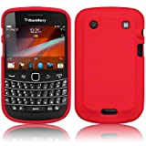 BLACKBERRY BOLD 9900 SILICONE SKIN CASE / COVER / SHELL - REDby TERRAPIN