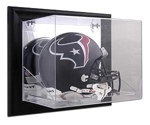 Houston Texans Black Framed Wall- Helmet Display Case - Memories - Mounted Memories... by Sports Memorabilia