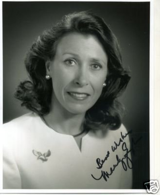 Marilyn Quayle Wife Vice President Dan Second Lady Signed Autograph