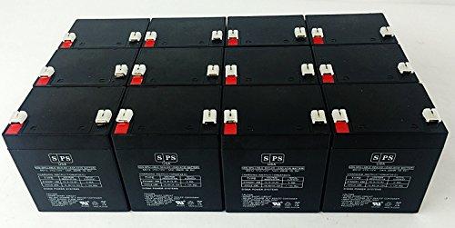 12V 5Ah Parks Medical Doppler 1052Medical Replacement Battery (Sps Brand) -12 Pack