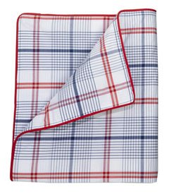 Whistle & Wink Windowpane Palaid Twin Duvet Cover For Cars & Trucks front-530059