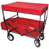 On The Edge 900124 Red Folding Utility Wagon With Handle ~ On The Edge